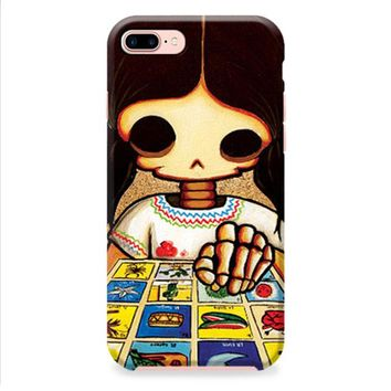 Day Of The Dead Skeleton Girl iPhone 8 | iPhone 8 Plus Case