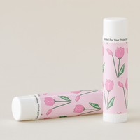 Pink Tulips Lip Balm Pack of 12