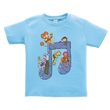 Jim Henson's Fraggle Rock Music Note Toddler T