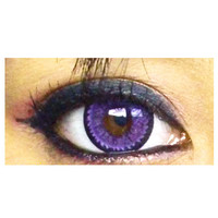 GEO Super Nudy Quarter Violet Purple Circle Lenses Cosmetic Colored Contacts