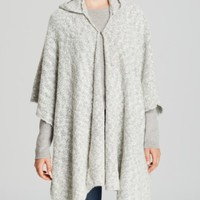 Echo Bouclé Hooded Ruana | Bloomingdales's