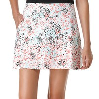 Grand Slam Printed Knit Flounce Golf Skort - Women's