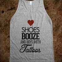 Love Shoes, Booze and Boys with Tattoos - Awesome fun #$!!*&