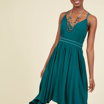 Jack by BB Dakota Boho Ballerina A-Line Dress | Mod Retro Vintage Dresses | ModCloth.com