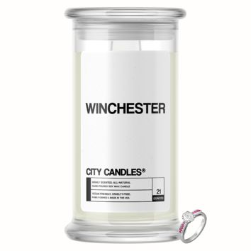 Winchester City Jewelry Candle