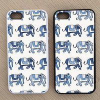 Cute Hipster Elephant iPhone Case, iPhone 5 Case, iPhone 4S Case, iPhone 4 Case - SKU: 226