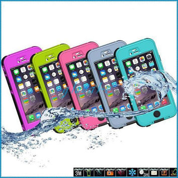 "New Stylus Case For iPhone 6 4.7 inch Ultra-thin Protective Case Waterproof Dustproof Shockproof fashion cases Hard cover for i6 4.7"" inch"