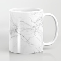 Marble Texture Coffee Mug by Printapix