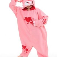 Gloomy Bear Pink Kigurumi - Adult Pajamas Fancy Dress (One Size Fits All)