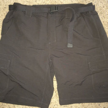 Sale!! Vintage The North Face cargo shorts skateboard hiking outdoor size Large Free US Shipping