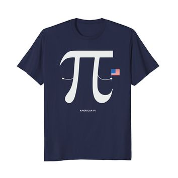 Pi Day Shirt for Math Teachers & Pie Nerds - American Pi