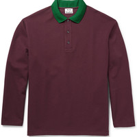 Acne Studios - Everet Cotton-Piqué Polo Shirt | MR PORTER