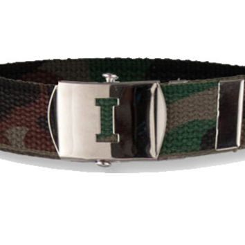 Camo Belt Boys Belt, Childrens Belt, Toddler Belt, Custom Buckle Belt