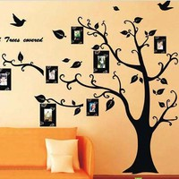 Hot!! Photo Tree Removable Art 3D Wall Stickers Home Decoration DIY Vinilos Paredes Wall Stickers Home Decor Adesivo De Parede