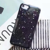 Luxurious Flashing Stars Case for iPhone 7 7Plus & iPhone se 5s 6 6 Plus Best Protection Cover +Gift Box-148