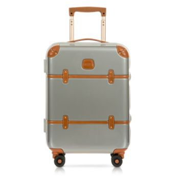 Bric's Designer Travel Bags Bellagio Metallo 21 Carry-On Spinner