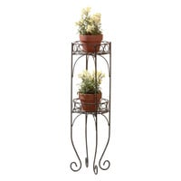 Zingz & Thingz Scrolling Double Plant Stand