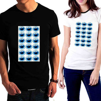 cookie monster Pattern - Tshirt for man shirt, woman shirt XS / S / M / L / XL / 2XL / 3XL /4XL / 5XL *02*