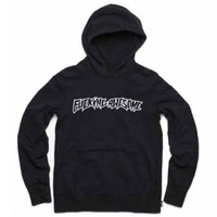 ESCAPIST SKATEBOARDING : Fucking Awesome Logo Hoodie Black : ESCAPIST SKATEBOARDING