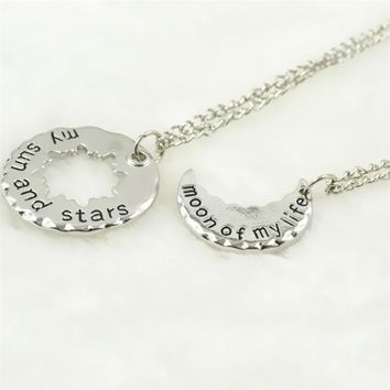 Game of Thrones My Sun & Stars Necklace Set