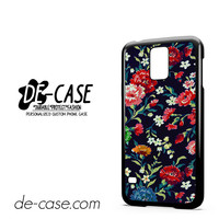 Rose Flower Floral Vintage For Samsung Galaxy S5 Case Phone Case Gift Present