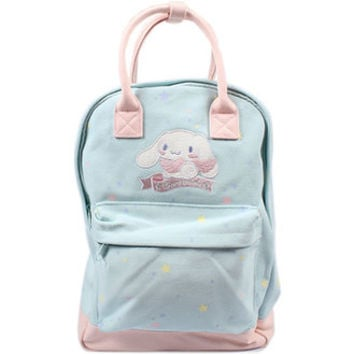 Cinamolol canvas 2Way rucksack ☆ Sanrio fashion bag & bag accessory series ★ black cat DM service impossibility