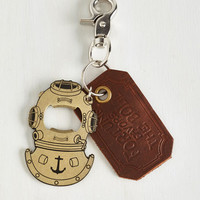 Nautical Diving to See You Keychain by ModCloth