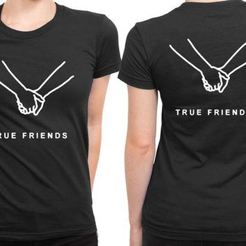 LMF1GW Bring Me The Horizon True Friend 2 Sided Womens T Shirt