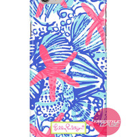 Lilly Pulitzer She She Shells Inspired iPhone Samsung Case Series