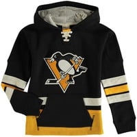 Pittsburgh Penguins CCM Youth Pullover Hoodie - Black