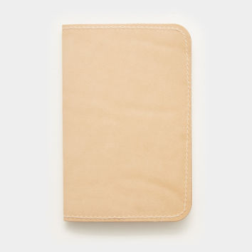 Word. Notebook Leather Cover - Tan