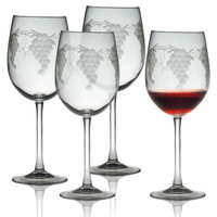 Sonoma Grape Wine Glasses