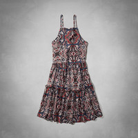 Tie-Back Swing Dress