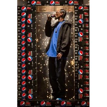 Snoop Dogg Pepsi Max Poster 24in x 36in