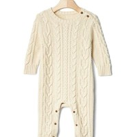 Cable knit sweater one-piece | Gap