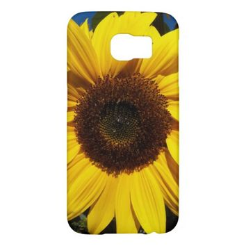 Sunny Sunflower Floral Samsung Galaxy S6 Cases