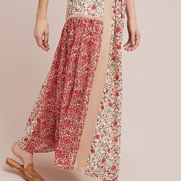 Sun-Kissed Floral Skirt