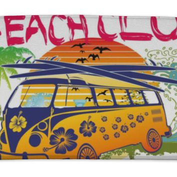 Bath Mat, Palm Beach Van Art