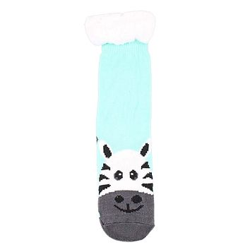 Zebra Toe Sherpa Lined Socks by Simply Southern