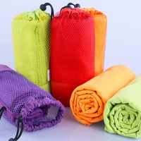 Larger Size 70x130cm Microfiber Sports Towel Travel Jogger Yoga Towel Camping Swim Gym Washcloth Exercise Absorbent Mesh Bag@LHY = 1932118276