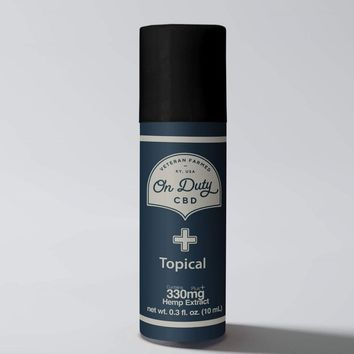 On Duty CBD Pure Topical Roll On