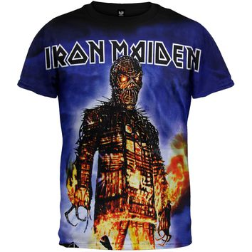 Iron Maiden - Wicker Man All-Over T-Shirt