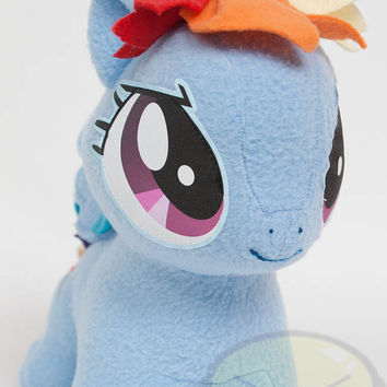 Chibi Rainbow Dash MLP Hand-Made Custom Craft Plush
