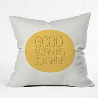 Allyson Johnson Morning Sunshine Throw Pillow
