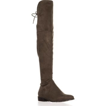 Marc Fisher Humor2 Over the Knee Boots, Taupe, 9.5 US