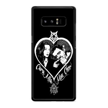 Morticia And Gomez Addams Addams Family Inspired Samsung Galaxy Note 8 Case