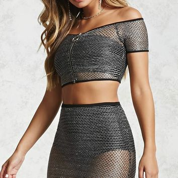 Chainmail Mini Skirt