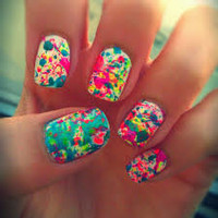 neon nail designs tumblr - Google Search