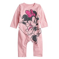 Disney's Minnie Mouse Baby Girl Coverall by Jumping Beans®