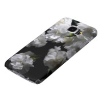 White Carnation Group Samsung Galaxy S6 Cases